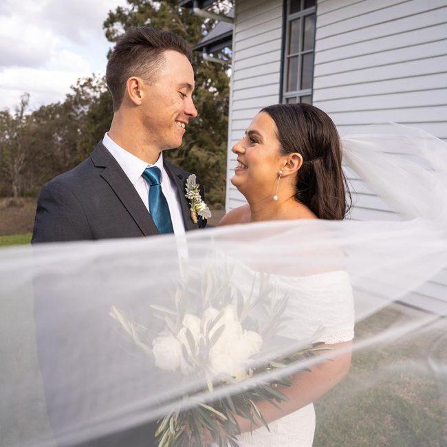 Wedding Photography - couple embracing 1