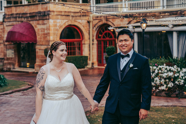 Wedding Photography - couple holding hands