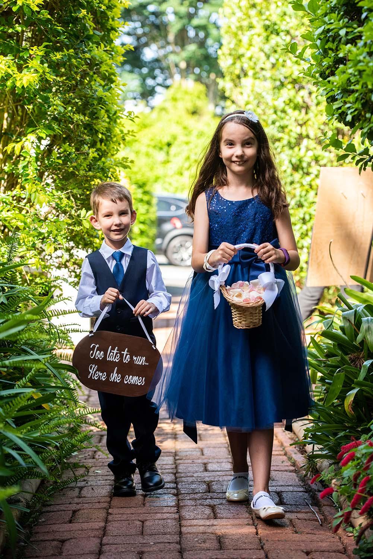Wedding Photography - flower kids