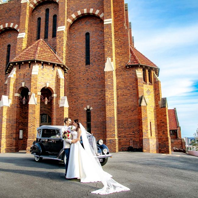 Wedding Photography - in front of church
