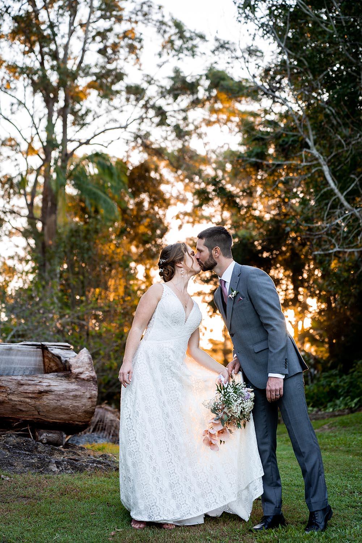 Wedding Photography - kissing couple