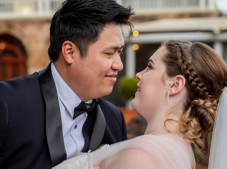 Wedding Photography - loving glances