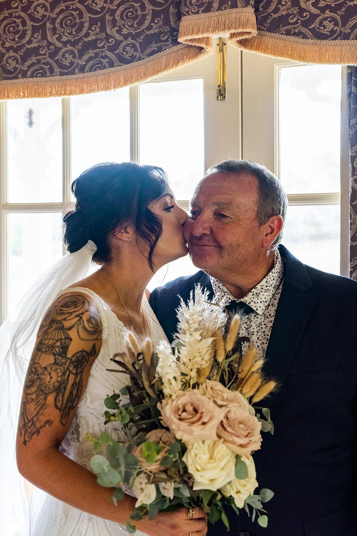 Wedding Photography - Bride & Father