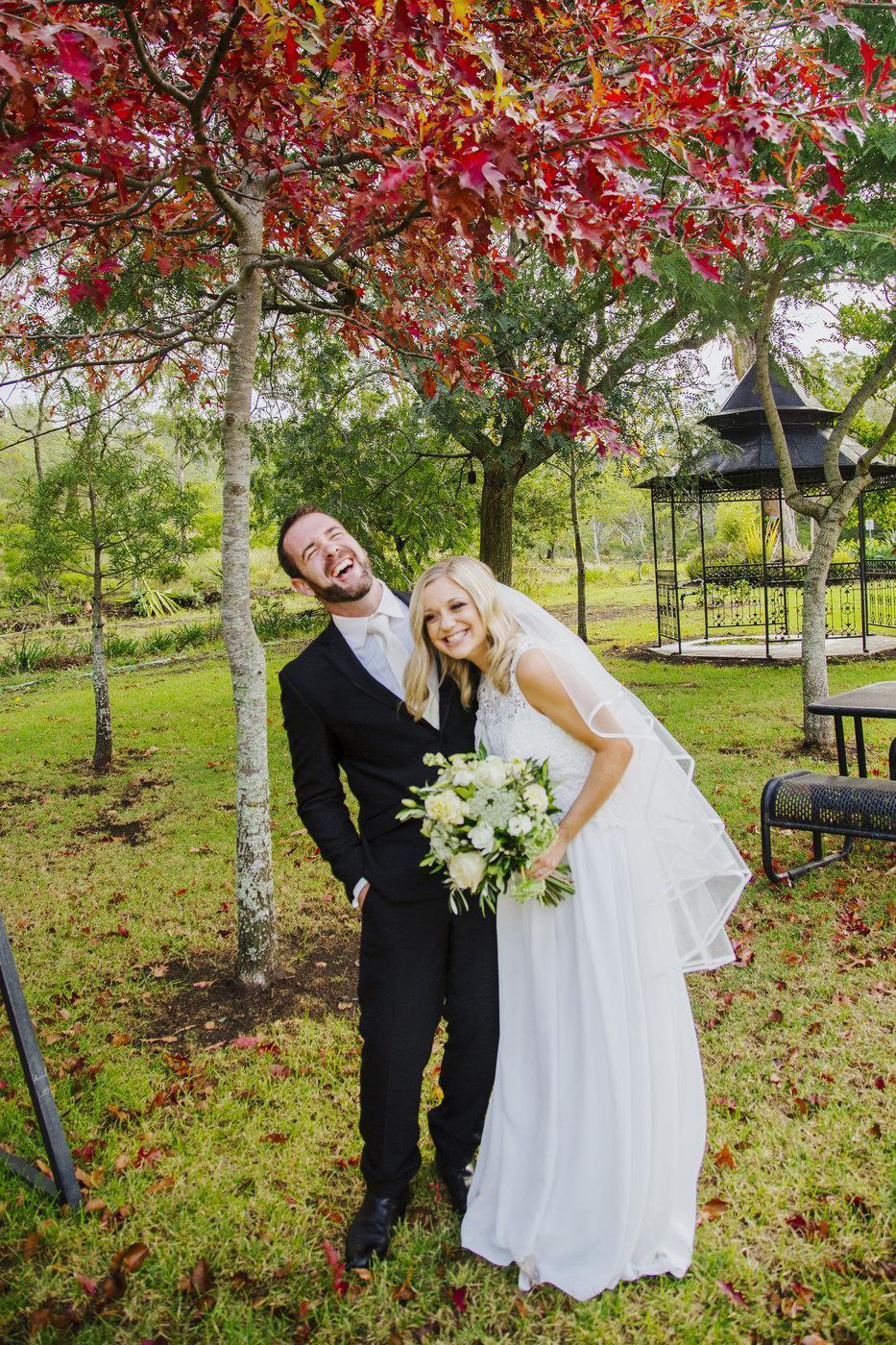 Wedding Photography couple laughing