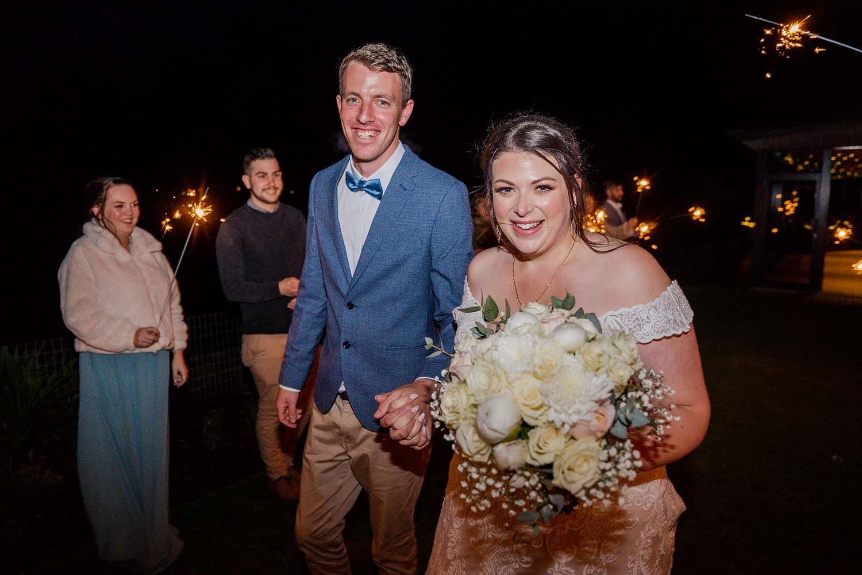 Wedding Photography - wedding exit