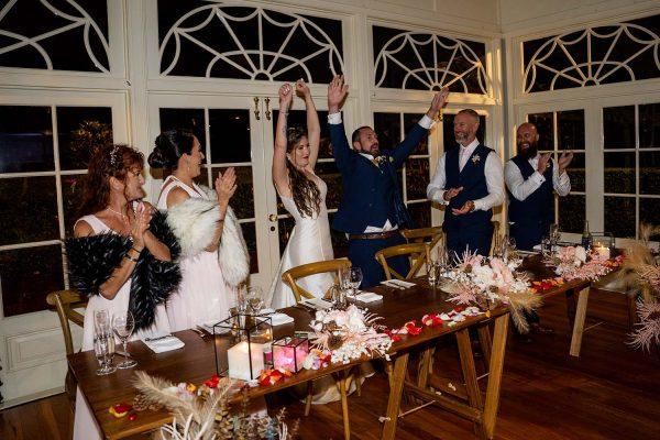 Wedding Photography - Bridal Party at reception