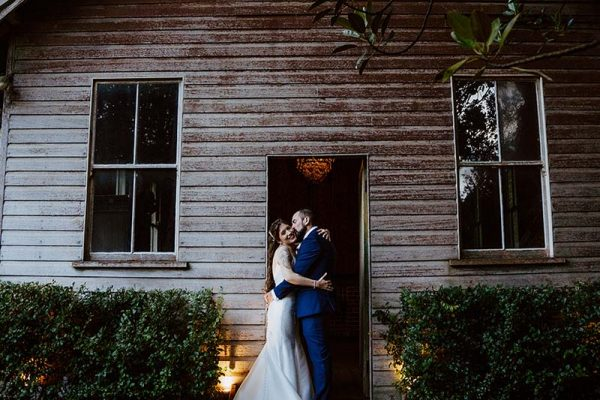 Wedding Photography - Bride and Groom embrace