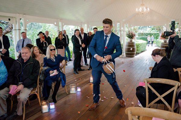 Wedding Photography - Flower Man