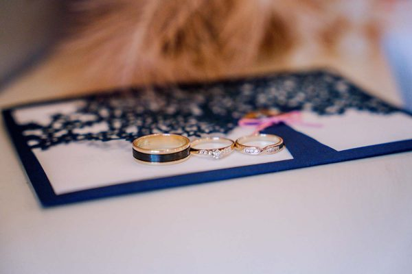 Wedding Photography - Rings Close Up
