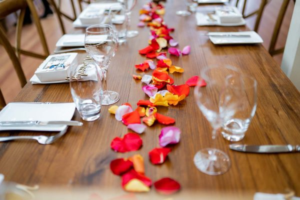 Wedding Photography - Table Details