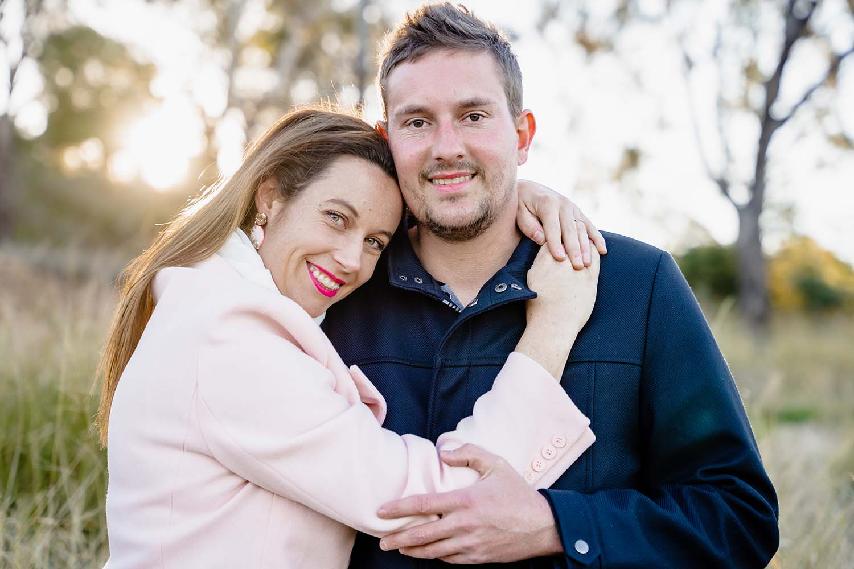 Engagement Photography - cuddle