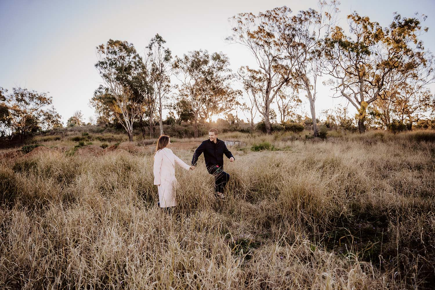 Engagement Photography - exciting