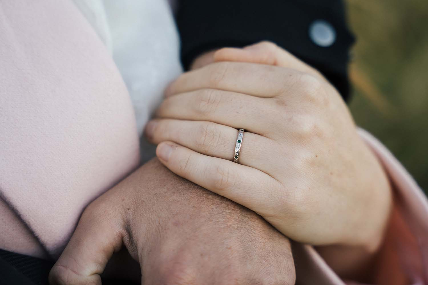 Engagement Photography - ring close up