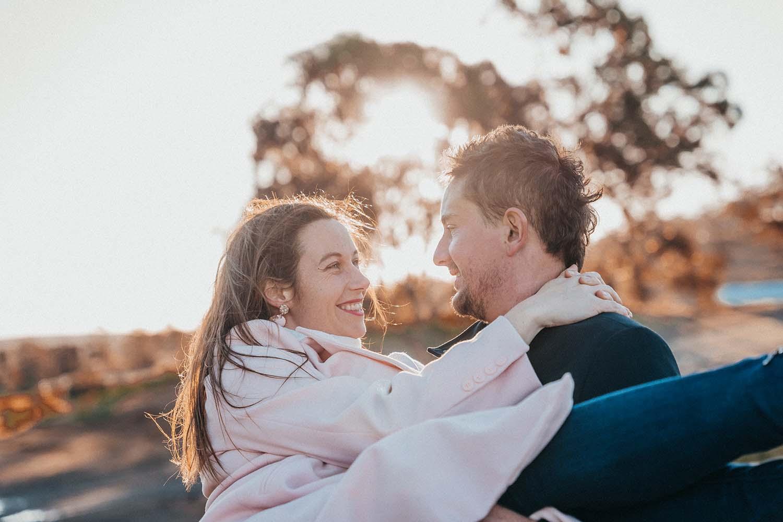 Engagement Photography - soulful gaze