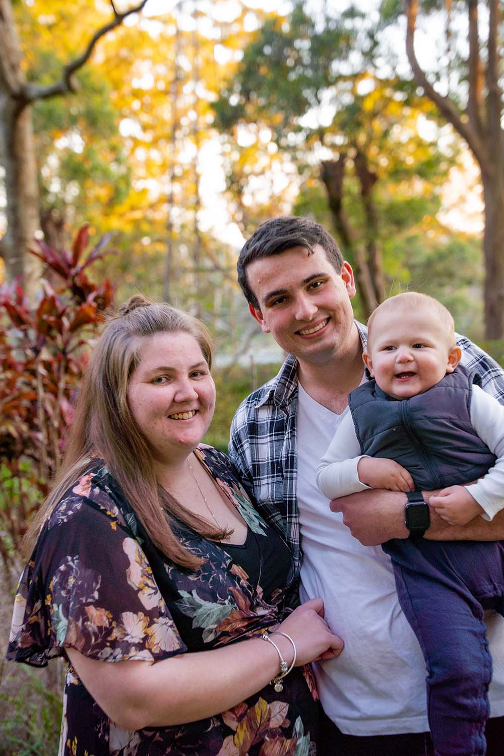Family Photography - mother, father & child