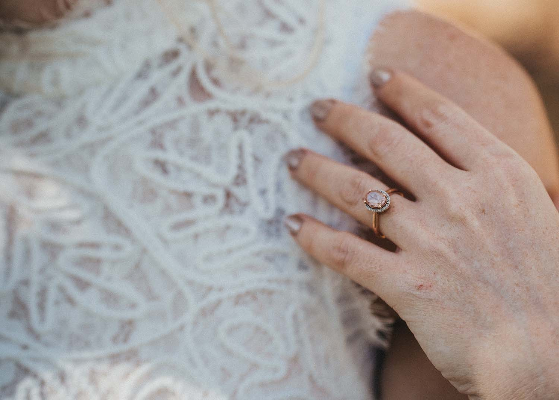 Wedding Photography - ring close up