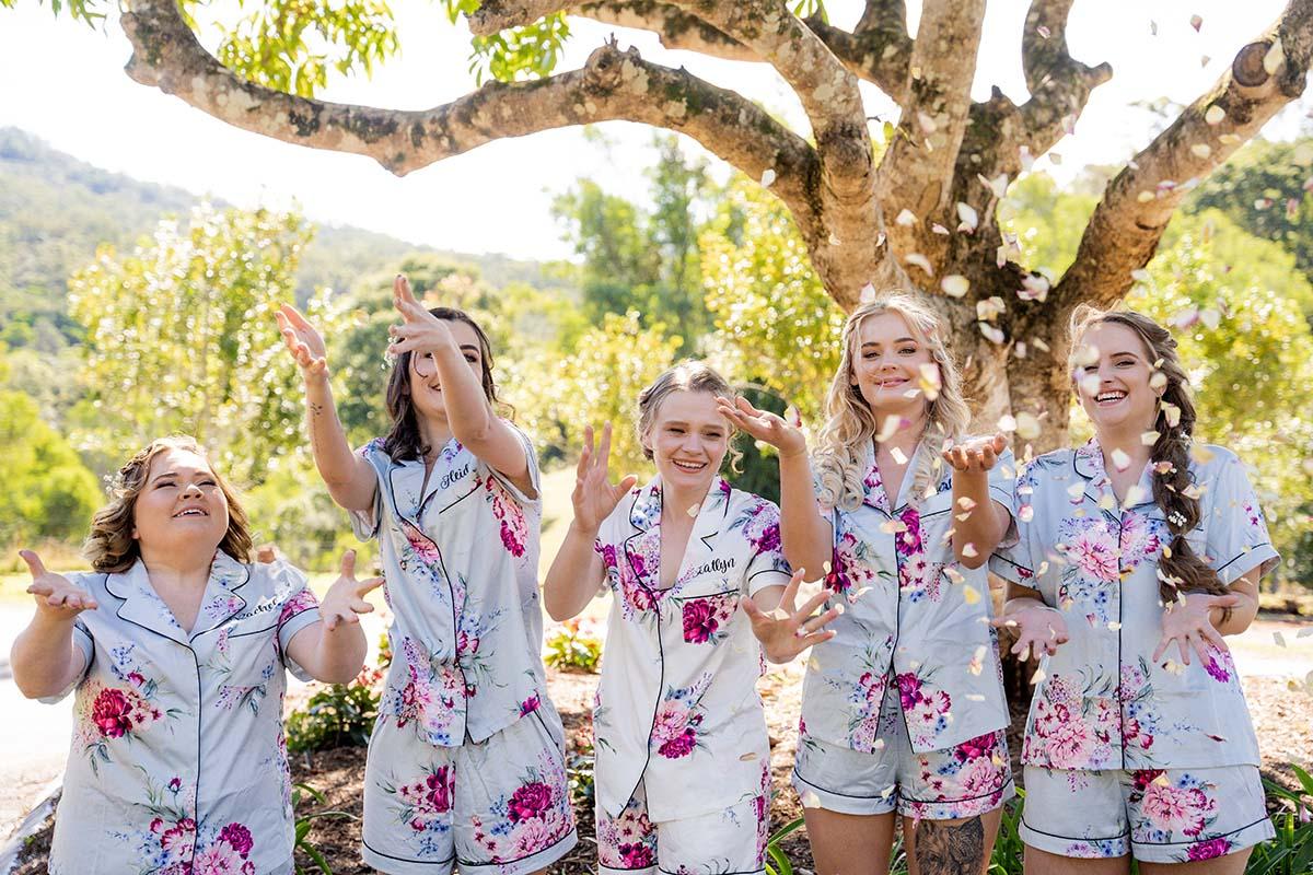 Wedding Photography - bridesmaids celebrate