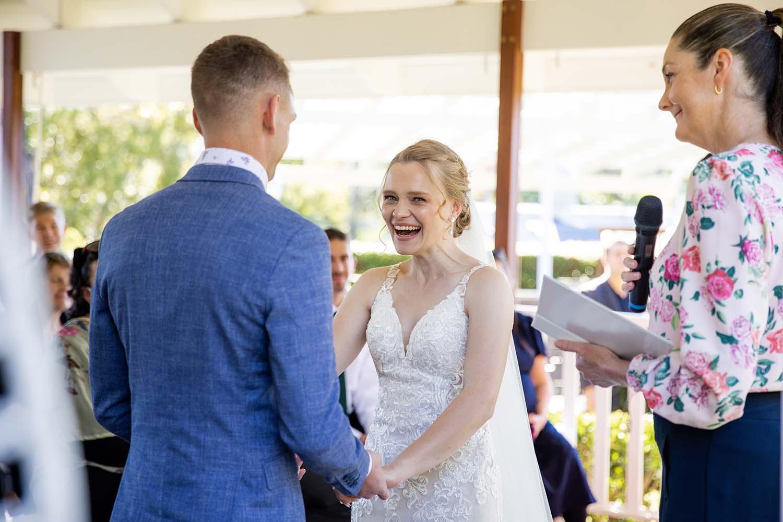Wedding Photography - ceremony vows