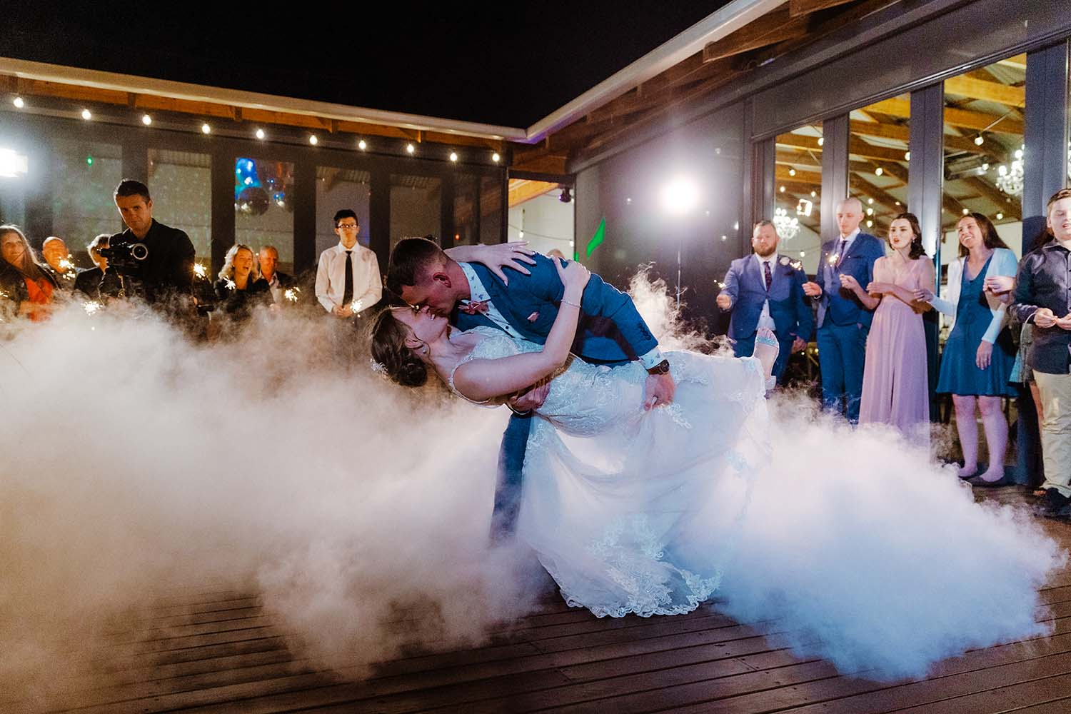 Wedding Photography - first dance bride and groom