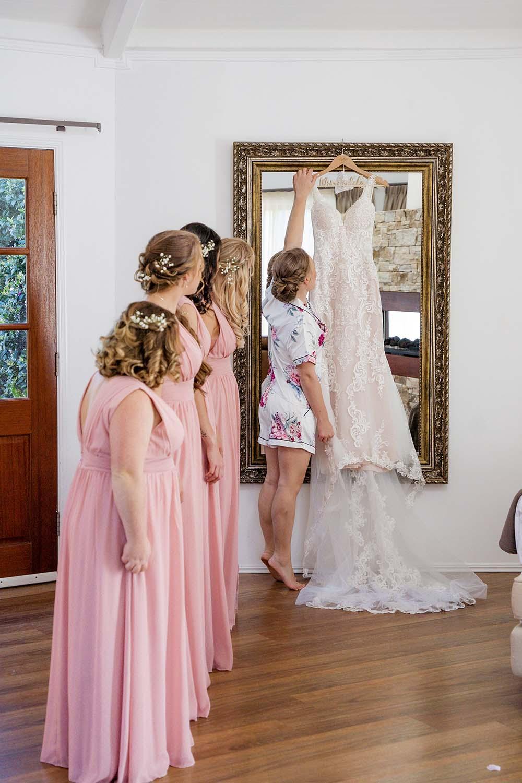 Wedding Photography - the wedding dress